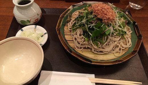 羽田空港で無性にお蕎麦が食べたくなった!「信州そば あずみ野」