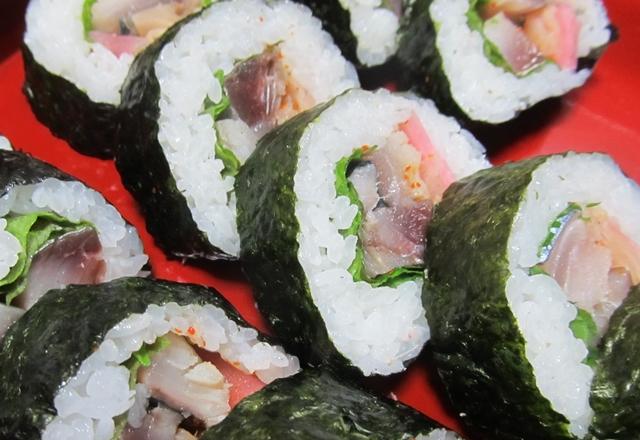 巻き寿司「博多巻き」の作り方