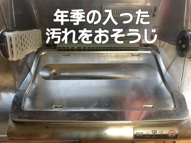 食器乾燥機をそうじしてたらエグいの出てきた!!【水垢どころじゃないよ】の画像