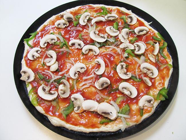 うすいピザ生地の作り方